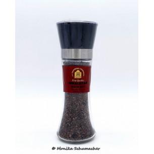 Himalayan Black Salt Crystal Grinder 100 gr