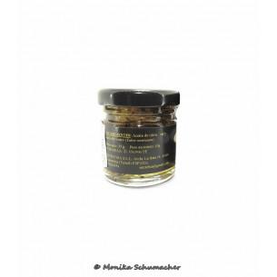 Oil-laminated summer truffle