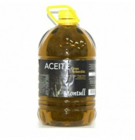 Extra virgin olive oil Montull Gran Seleccion 5l