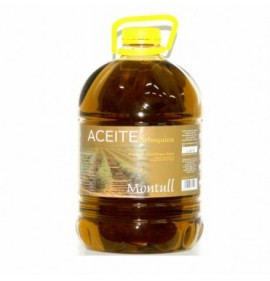 Extra virgin olive oil Montull Arbequina pet 5l