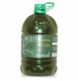 Extra virgin olive oil Montull Excellence 5l