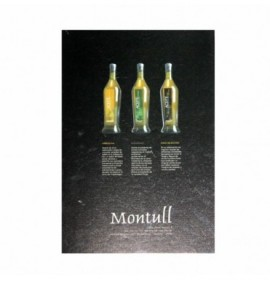 Pack 3 botlles Extra virgin olive oil Montull