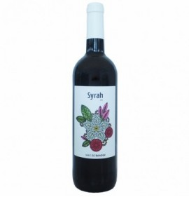 Red Wine Syrah mas de rander