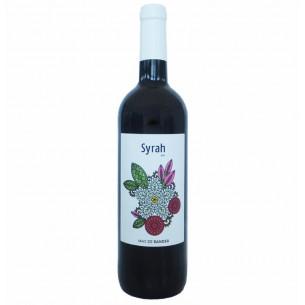 Red Wine Syrah mas de rander