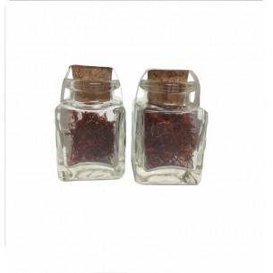 Azafran en hebra selecto espanol tarro cristal 1 g