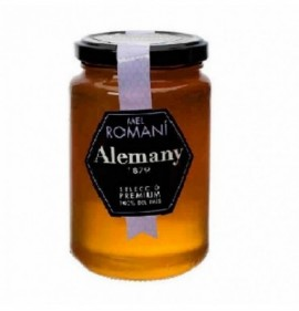Rosemary honey Alemany glass jar 500 gr