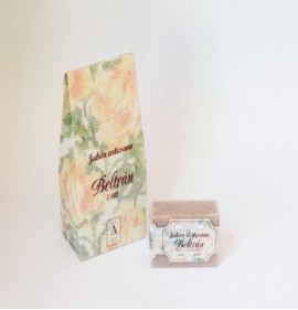 Natural soap with almonds