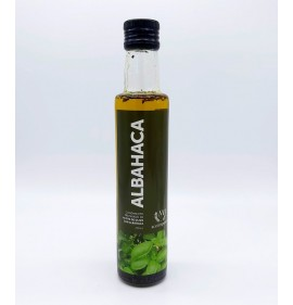 Oil macerated with Basil 250 Ml