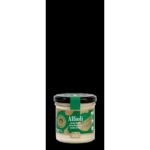 """""""Allioli"""" made of olive oil"""
