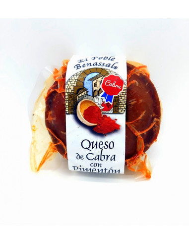 Sheep's cheese with paprika