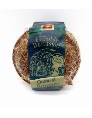 Sheep's cheese with rosemary